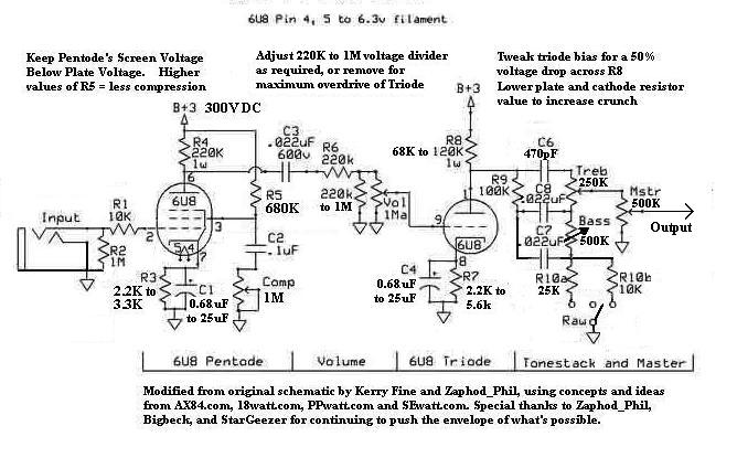PreampSchematicV5_5 marshall class 5 wiring diagram diagram wiring diagrams for diy read wiring diagrams at fashall.co